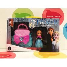 Игровой набор - Сумочка и кукла Холодное сердце
