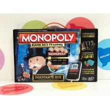 Игра настольная - Монополия электронная H007