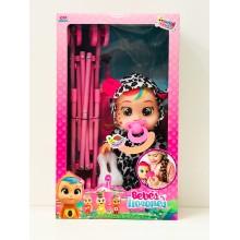 Кукла - Плачущий младенец с коляской