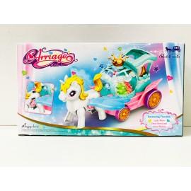 Игрушка - Пони с каретой JD193-3A