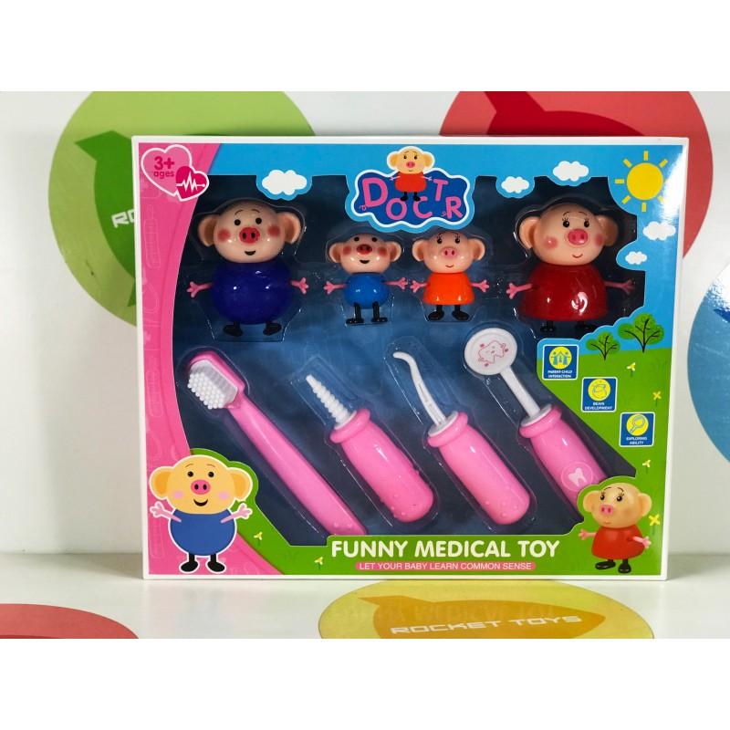 Игровой набор - Свинка доктор