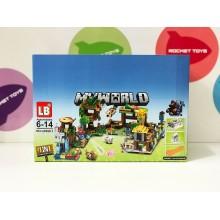 Конструктор - Minecraft 4 в 1 свет. LB559-1
