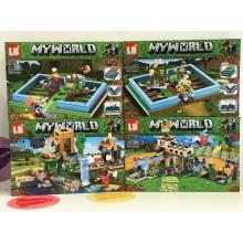 Конструктор - Minecraft 4 в 1 LB566