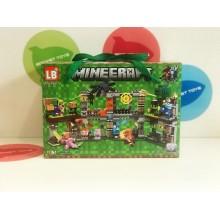 Конструктор - Minecraft 4 в 1 LB569