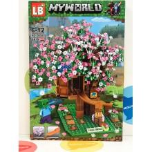 Конструктор - Minecraft 661 дет. свет. LB582