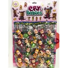 Куклы - Пупсы на листе 20 шт.