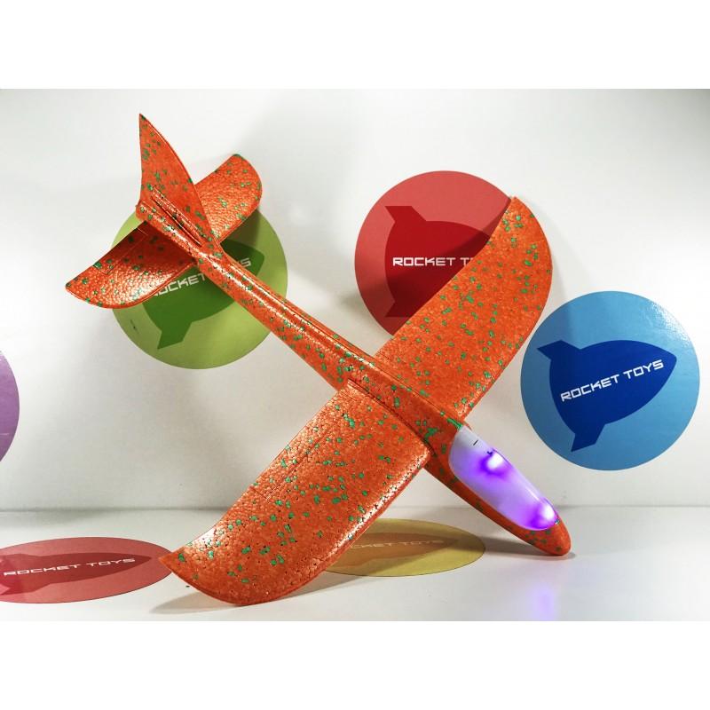 Игрушка - Самолет планер светодиодный