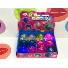 Игровой набор - Мяч прыгун свет. 65 мм