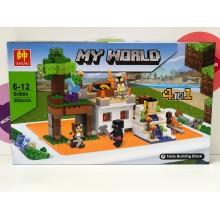 Конструктор - Minecraft 4 в 1 302 дет. SH004