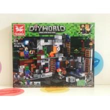 Конструктор - Minecraft 466 дет. TM7437