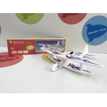 Игрушка - Самолет планер с моторчиком