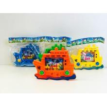 Игрушка - Водная игра с колечками Корабль 6 шт.