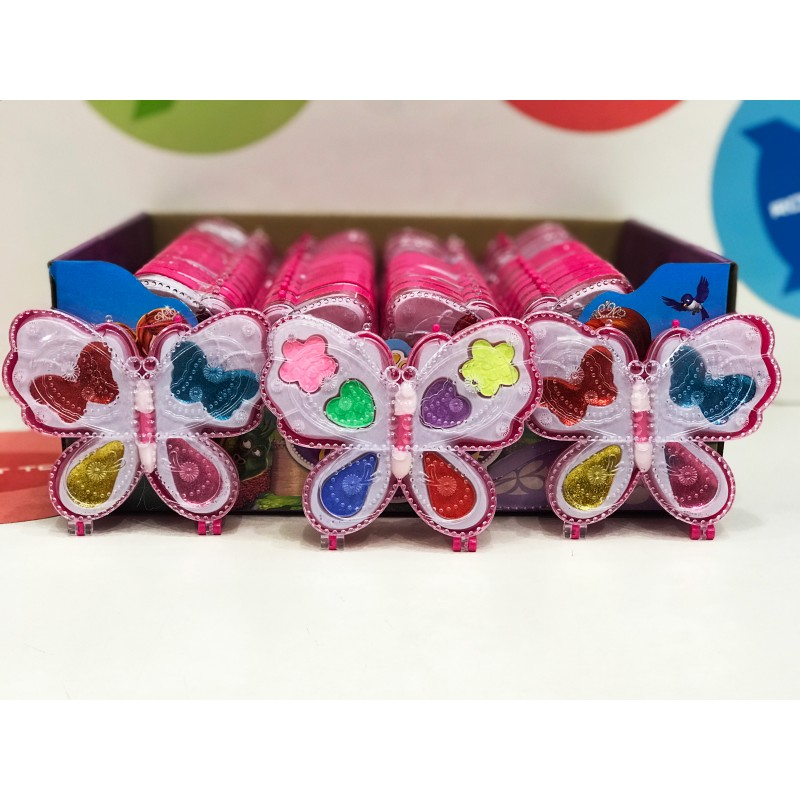 Игровой набор - Косметика для кукол Бабочки 26 шт.