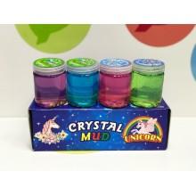 Игрушка - Лизун в баночках с фруктами Crystal Mud