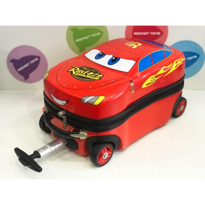 Детский чемодан Тачка на колесиках