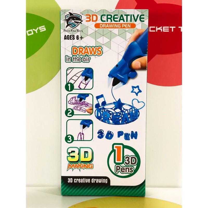 Игрушка - 3D ручка в ассортименте 8801-2C