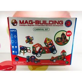 Игрушка - Магнитный конструктор 56 деталей