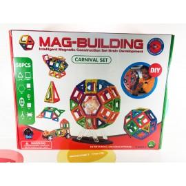 Игрушка - Магнитный конструктор 58 деталей