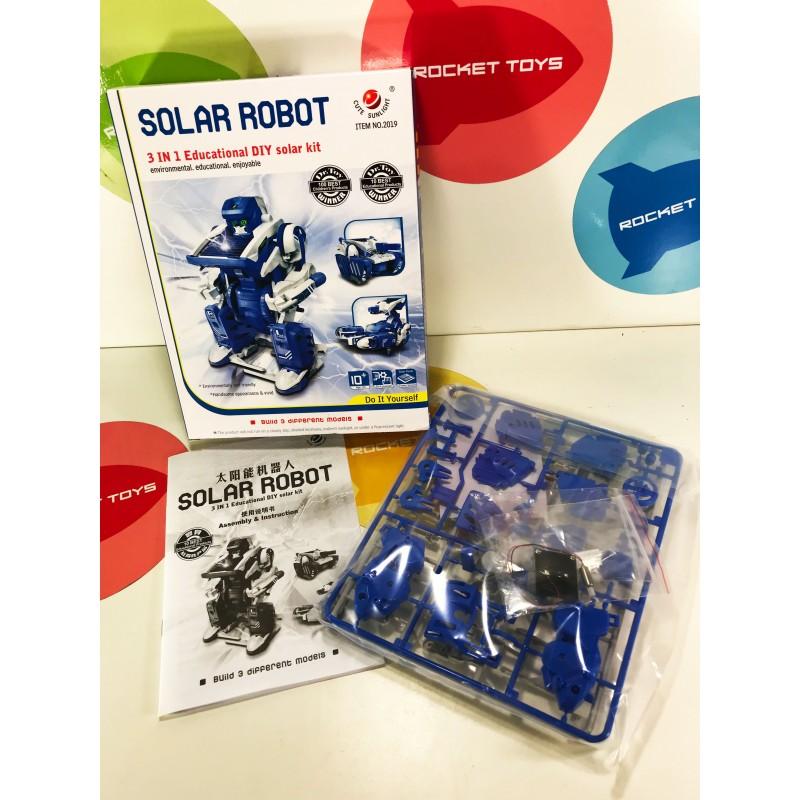 Игрушка - Solar Robot 3 в 1