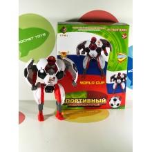Игрушка - Спортивный воин-трансформер