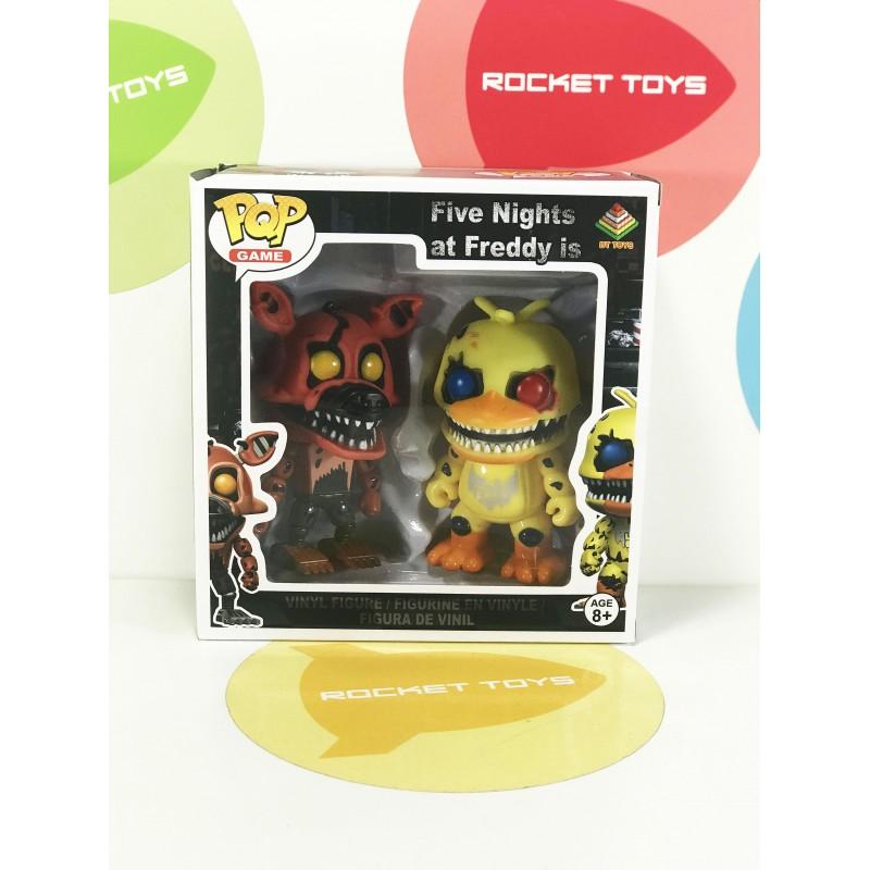 Игрушка Pop! - Nightmare Foxy + Nightmare Chica