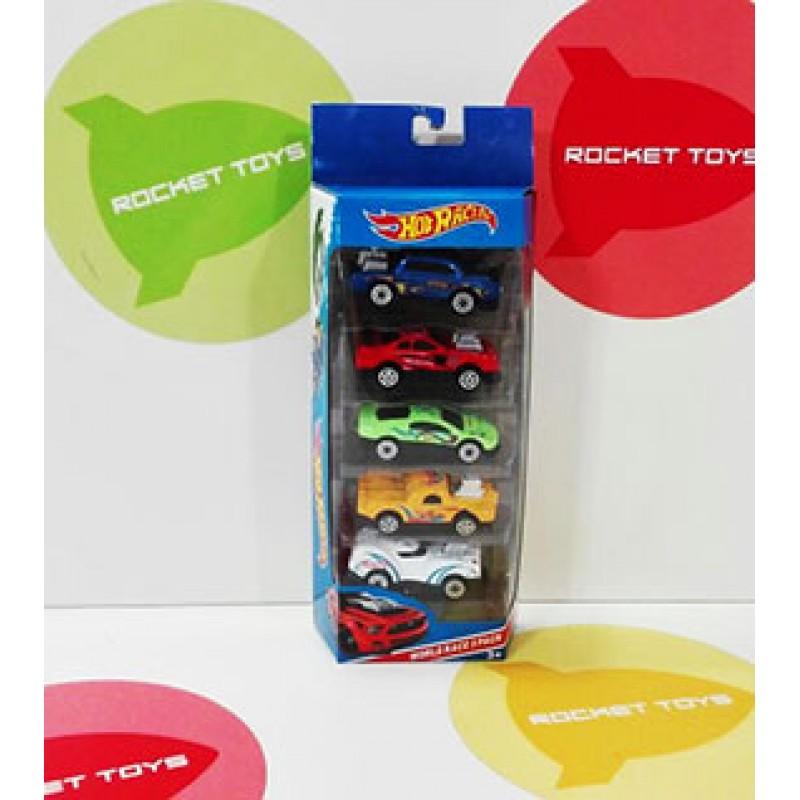 Хот Racing набор машинок 5 шт 2699-5