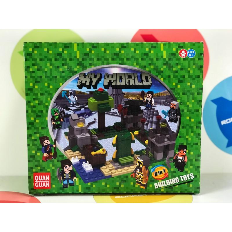 Конструктор - Minecraft 8 в 1