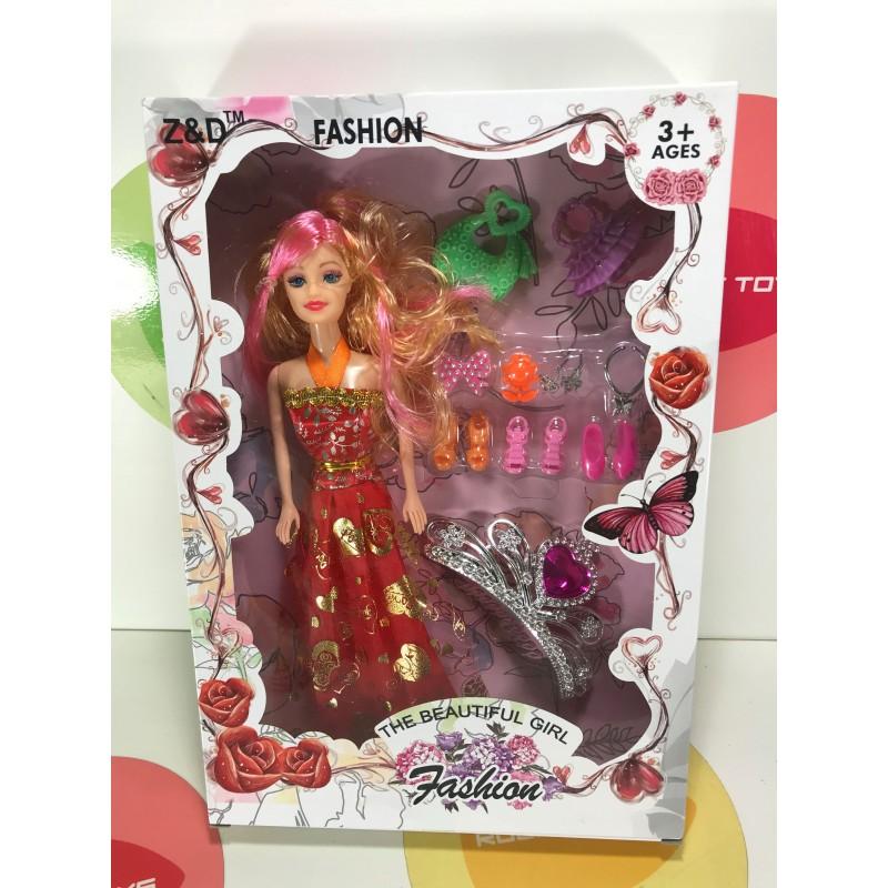 Кукла - Fashion с аксессуарами-B