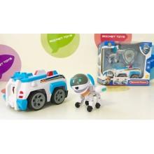 Игрушки - собачки на транспорте - CH-906D Робопес