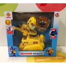 Игрушки - собачки на транспорте - CH-002-D Желтый