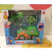 Игрушки - собачки на транспорте - CH-002-B Зеленый