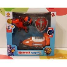 Игрушки - собачки на транспорте - CH-002-E Оранжевый