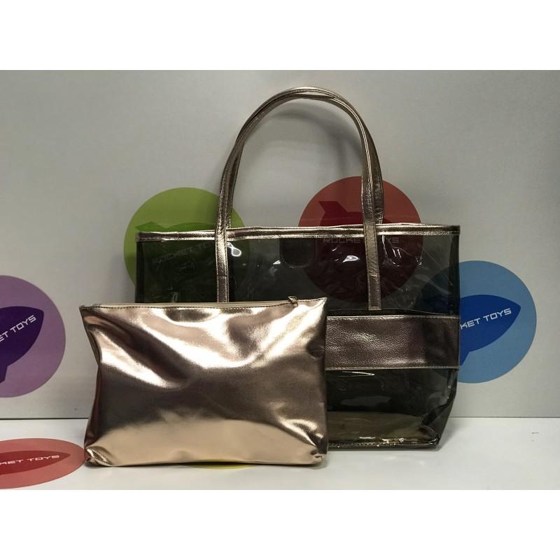 Прозрачная сумка 2 в 1 в ассортименте