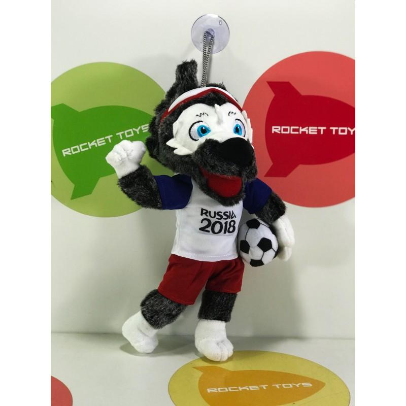 Игрушка мягкая - Волчок-футболист